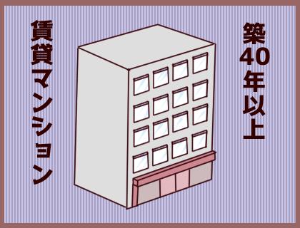 築40年以上の賃貸マンション